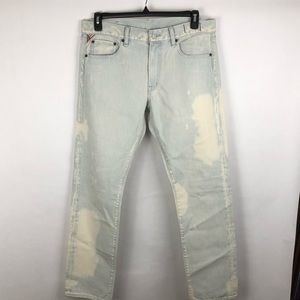 Men's RALPH LAUREN Splattered Jeans size 34